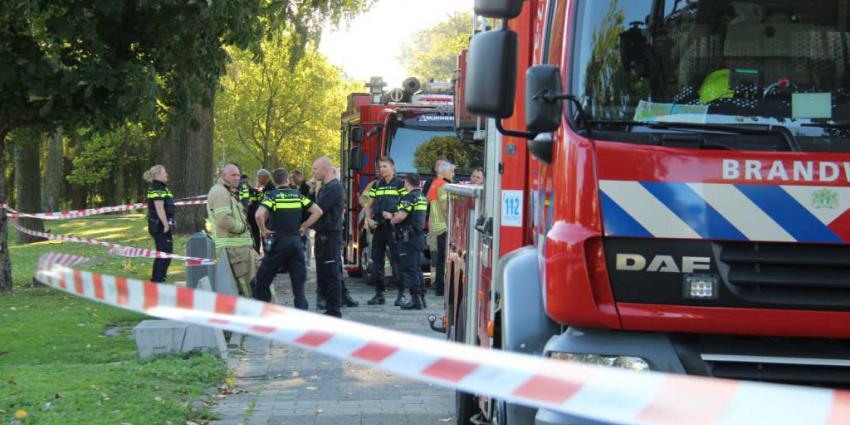 Dode aangetroffen in water in Rotterdam