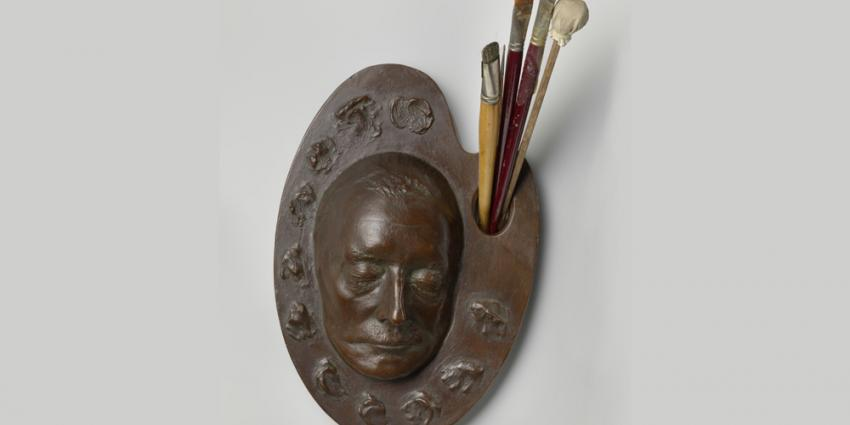 Foto van het dodenmasker | Rijksmuseum