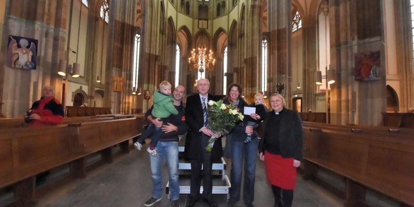 300.000ste bezoeker voor de Domkerk