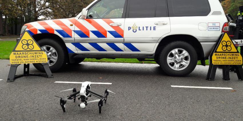 Politie drone van drone team