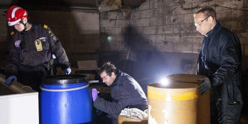 Politie ontdekt drugslab in loods en houdt Rotterdammer (46) aan
