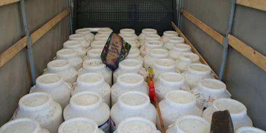 FIOD onderschept vrachtwagen vol grondstof voor XTC-pillen
