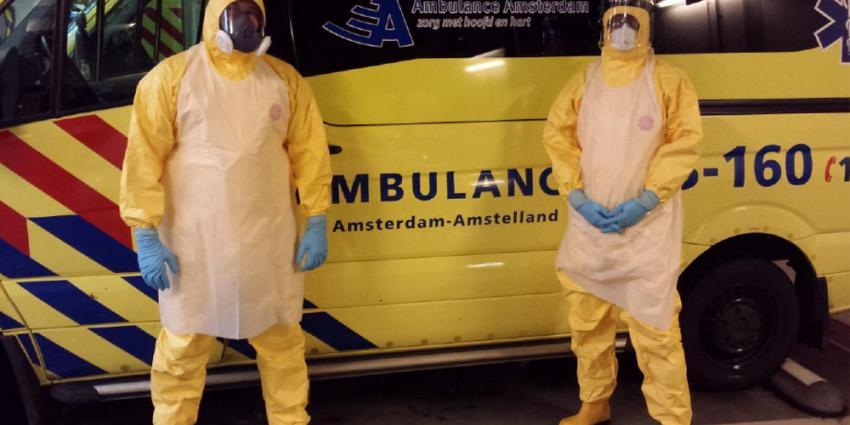 Ambulancezorg noordwest Nederland goed voorbereid op Ebola-patiënten