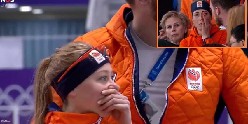 Nederlandse tranen van vreugde en verdriet op de 5 km in PyeongChang