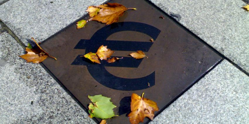 Foto van Euro-tegel   Archief FBF.nl