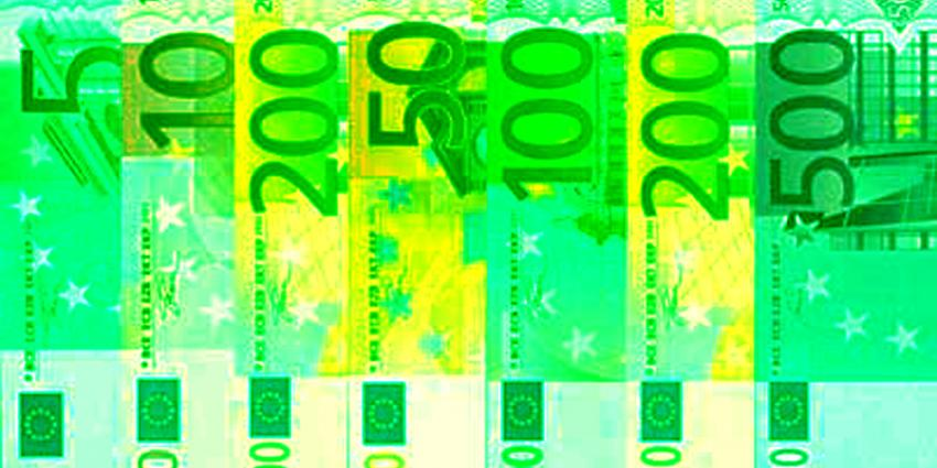 Foto van eurobiljetten groen | Archief EHF