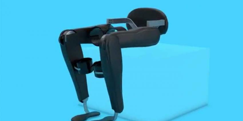 Studenten bouwen nieuw exoskelet voor dwarslaesiepatiënt