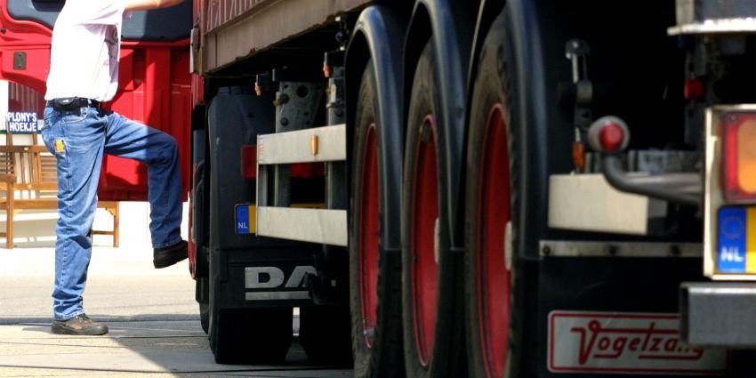 Foto van vrachtwagen | Archief FBF.nl