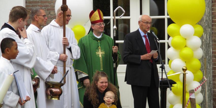 Feestelijke heropening van het Parochie centrum het Skûtsje in Heerenveen