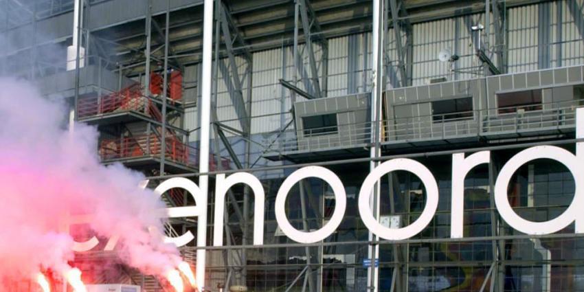 Zeven aanhoudingen voor bedreigen speler Feyenoord
