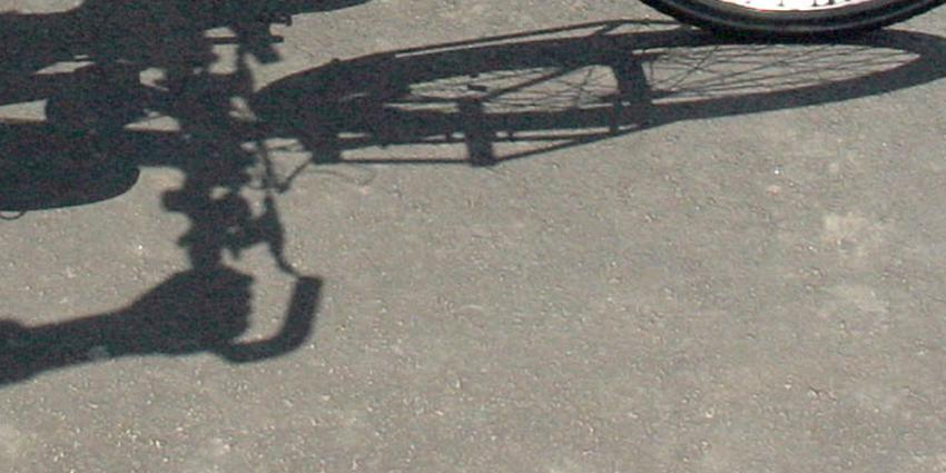Foto van fiets schaduw | Archief EHF