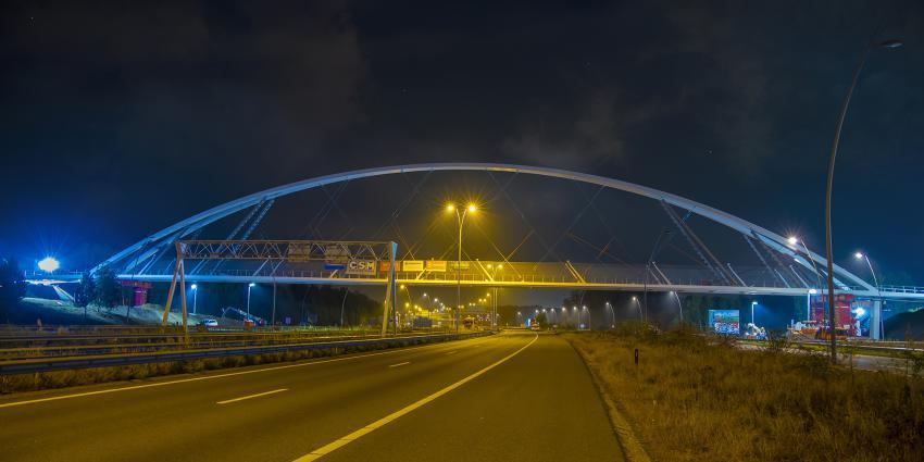 Nieuwe fietsbrug Eindhoven