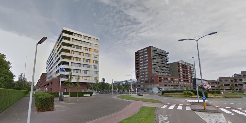 IS-aanhanger in beeld in flat Hoofddorp