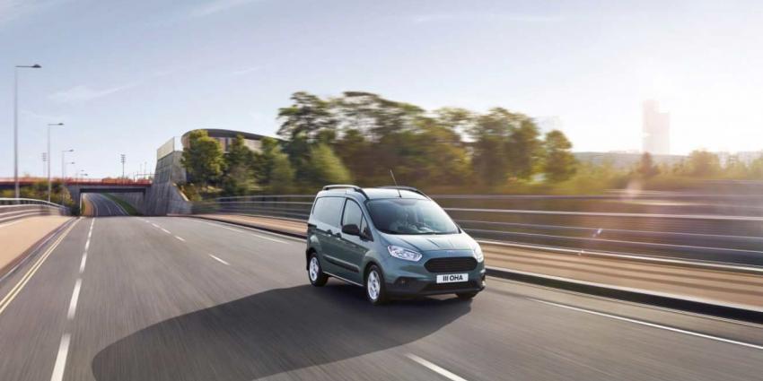 De nieuwe Ford Transit Connect- en Transit Courier-bedrijfswagens