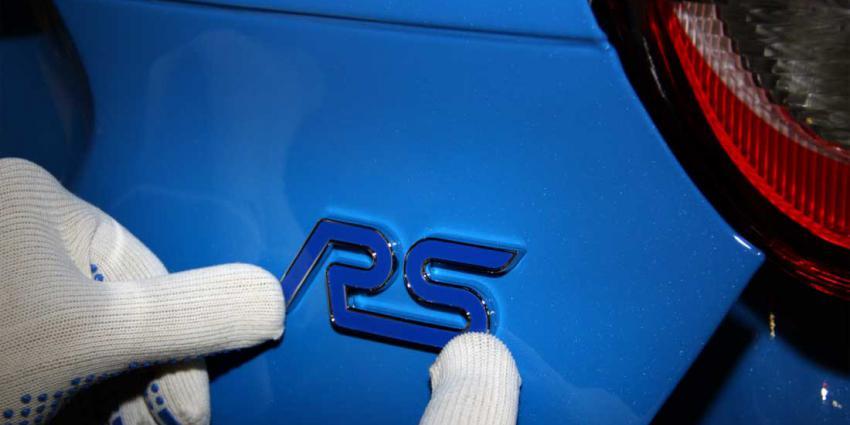 Eerste Ford Focus RS van band gerold