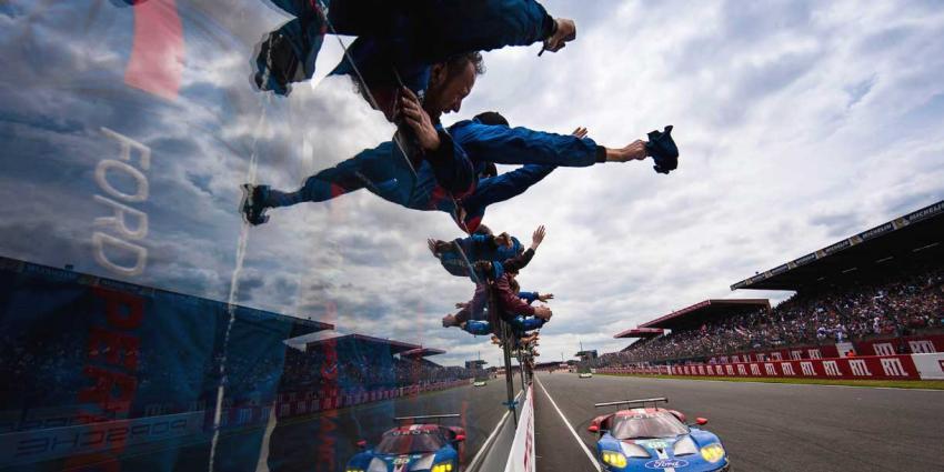 Ford wint met GT super sportwagen 24 Uur van Le Mans
