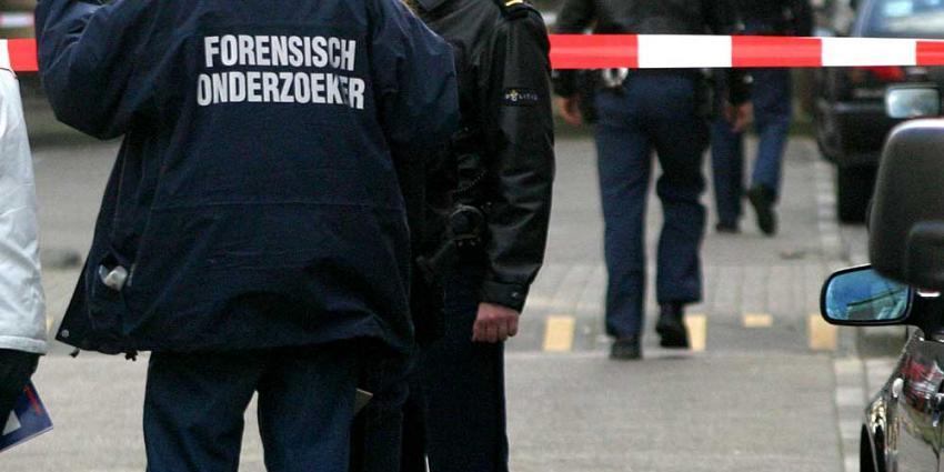 Foto van afzetlint politie forensisch onderzoek | Archief EHF