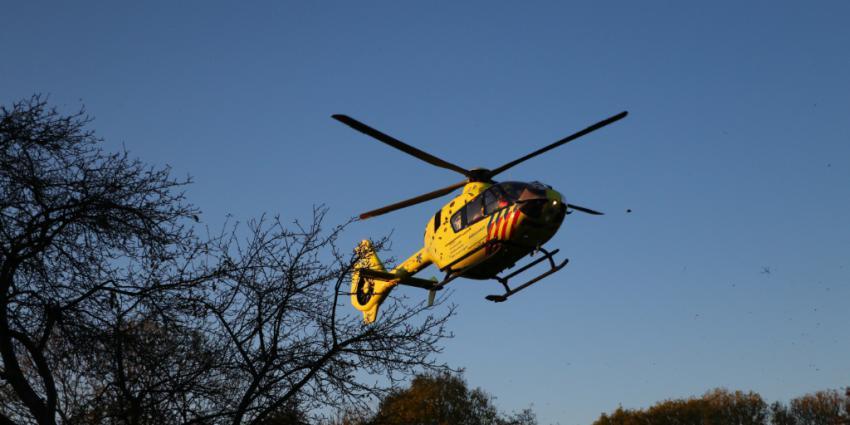Traumahelikopter ingezet bij incidend