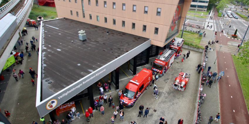 Foto van open dag brandweer Schiedam