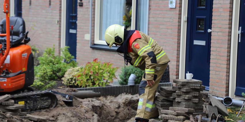 gaslek-brandweerman