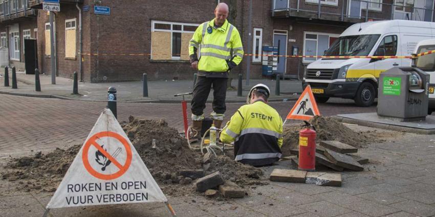 Explosiegevaar door grote gaslekkage na diefstal cv-ketel in Rotterdam