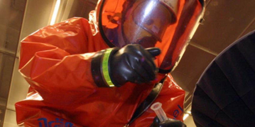 Foto van gaspak chemische stoffen | Archief EHF