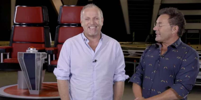 Geer en Goor samen op coachstoel  bij 'The Voice Senior'