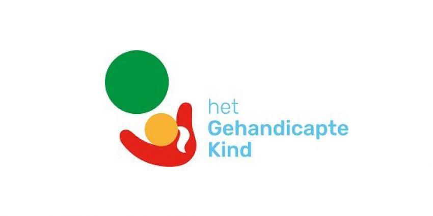Logo gehandicapte kind
