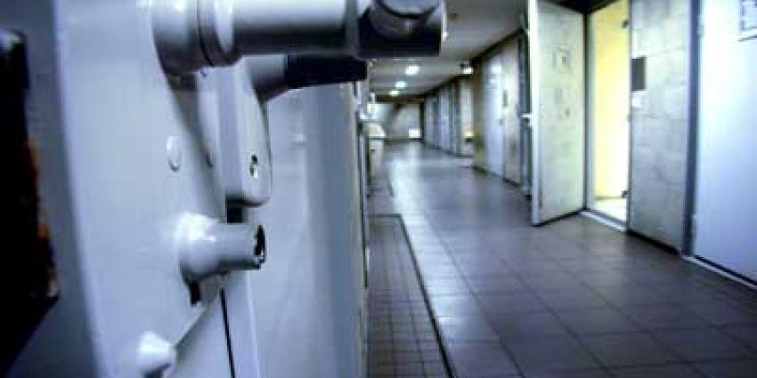 Foto van gevangenis celdeur | Archief EHF