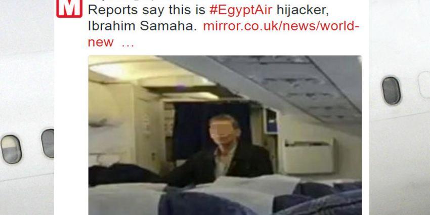 Nederlander aan boord gekaapt vliegtuig EgyptAir op Cyprus