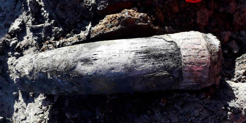 Brisantgranaat uit WOII tot ontploffing gebracht in Delfzijl