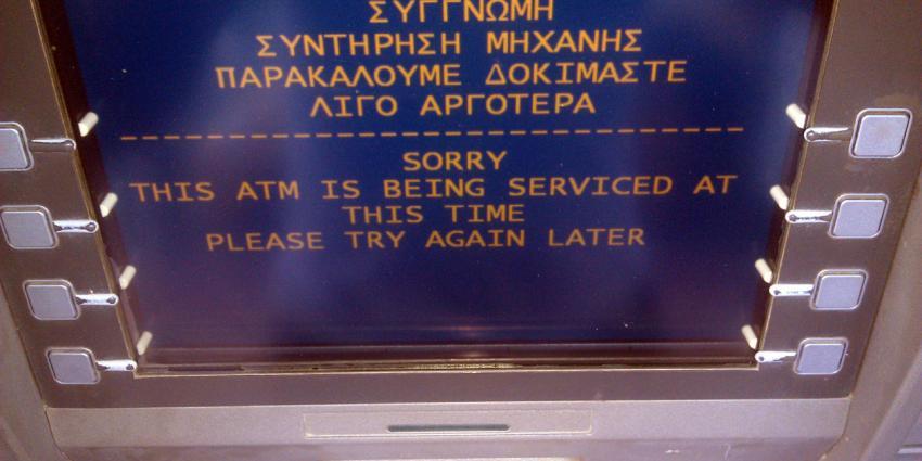 Reisadvies Griekenland gewijzigd, neem voldoende geld mee