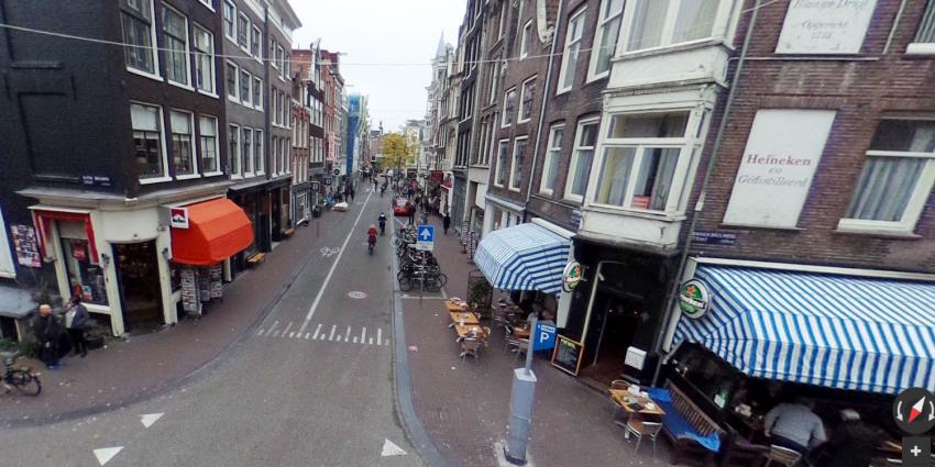 Raam restaurant beschoten in Amsterdam