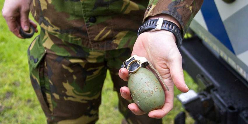 Handgranaat gevonden nabij basisschool Schiedam