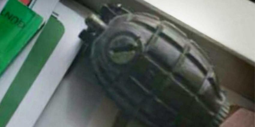 Granaat in boekenkast overleden bejaarde stond op scherp