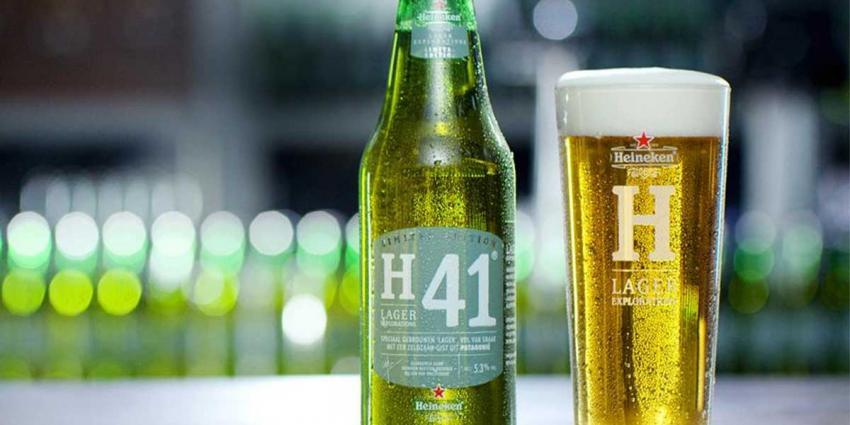 Nieuwste biertje van Heineken heet H41