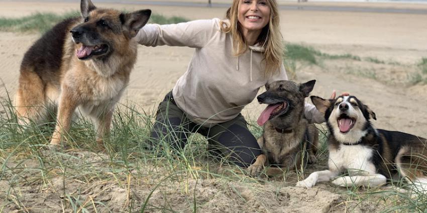 Heleen van Royen nieuwe ambassadeur van de Koninklijke Hondenbescherming