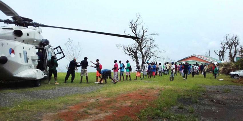 Delen Dominica na orkaan Maria afhankelijk van hulp Nederlandse militairen
