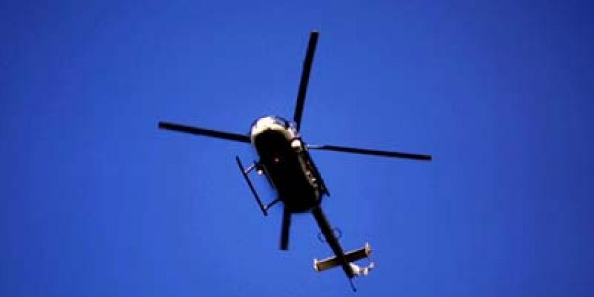 Foto van politiehelikopter | Archief EHF