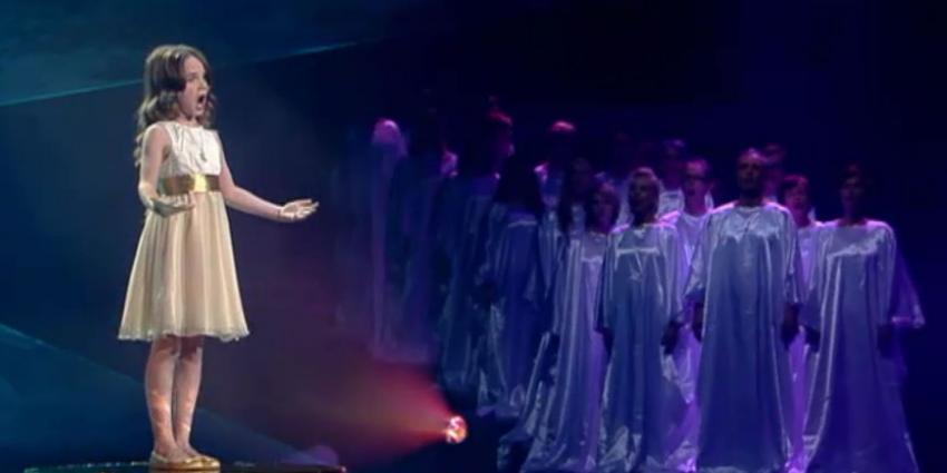 foto van Amira Willighagen (9) wint Holland's Got Talent | RTL