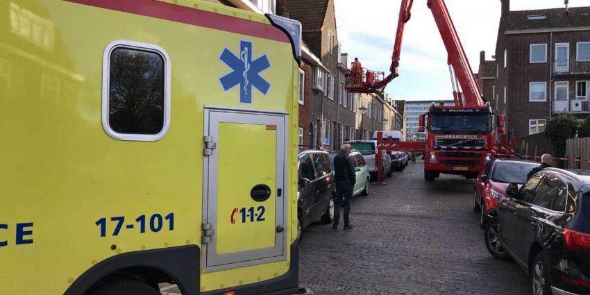 Traumahelikopter ingezet voor medische noodsituatie Vlaardingen