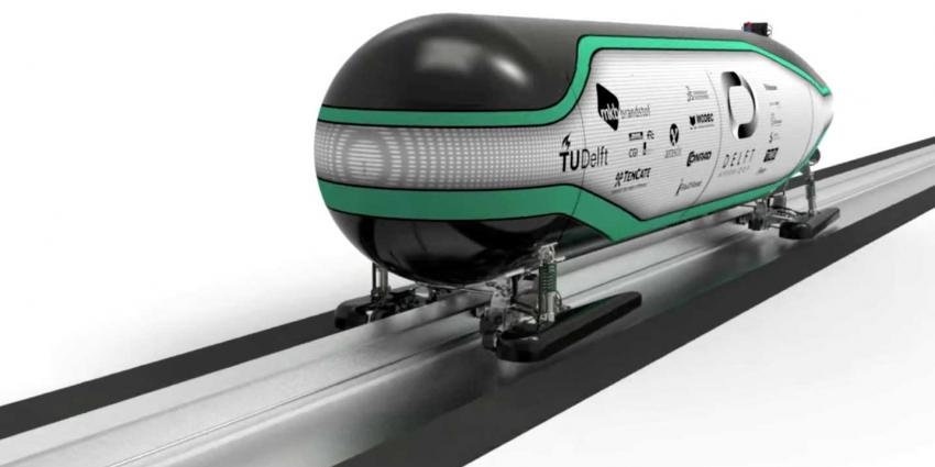 NS investeert 3 ton in startup succesvol Hyperloop team