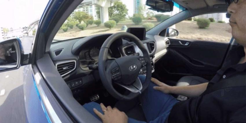 Hyundai presenteert de zelfrijdende Hyundai IONIQ