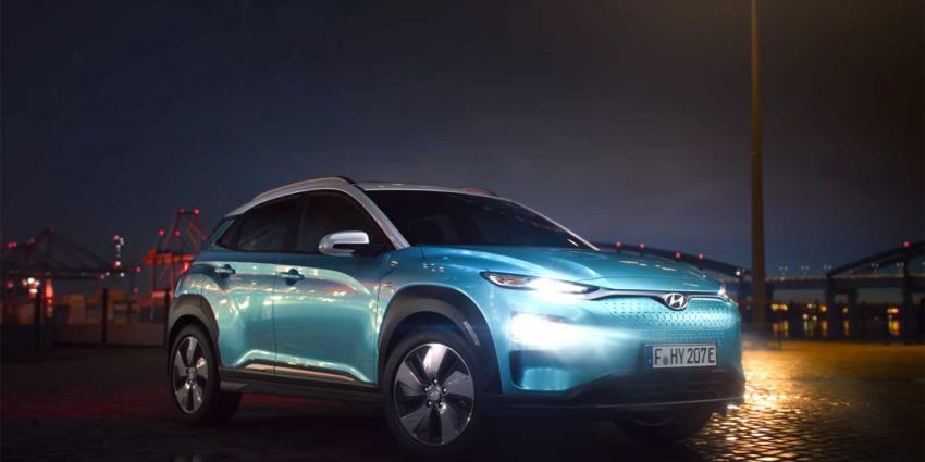 Allereerste foto's en video van Hyundai KONA Electric