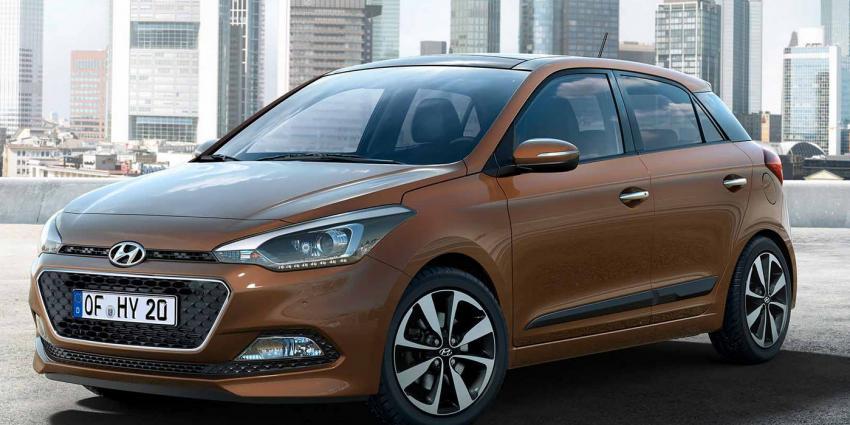 Eerste foto's van Hyundai i20