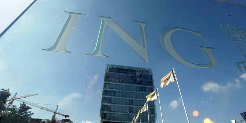 Foto van ING-hoofdkantoor