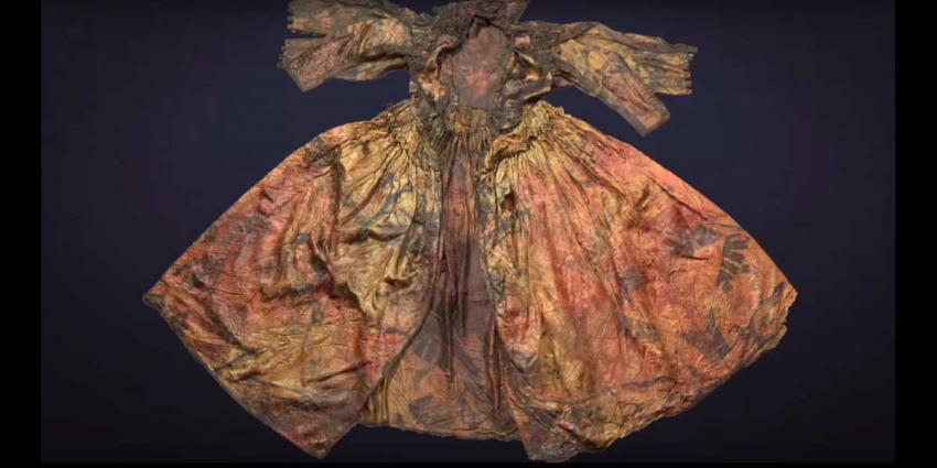 17e eeuwse koninklijke garderobe opgedoken van bodem Waddenzee