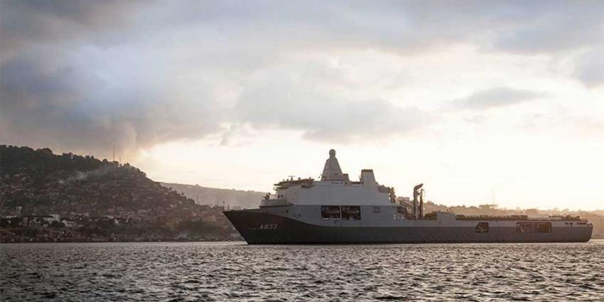 Elektromotor marineschip Karel Doorman defect