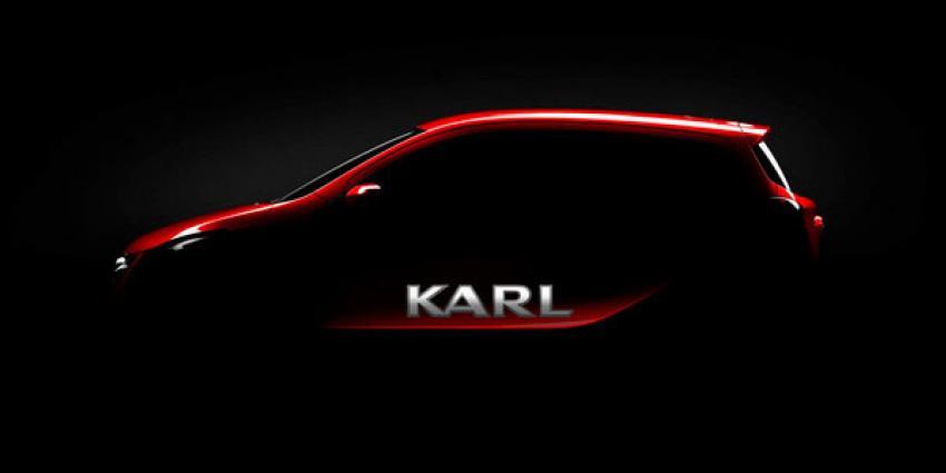 De nieuwe Opel Karl