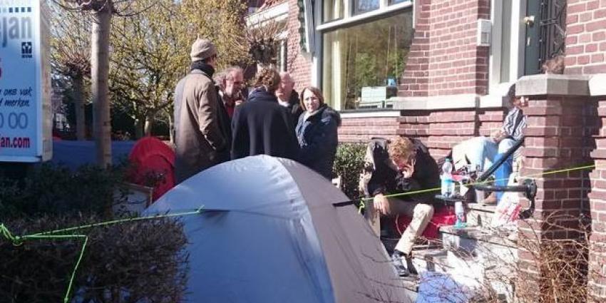 Dagen in de rij voor de beste kavels in Rotterdam